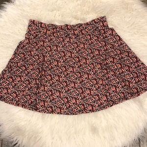 Charlotte Russe Floral Skirt